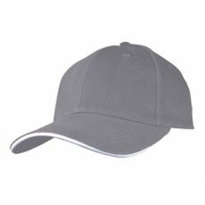 6-panel cap 'San Francisco'  color grey