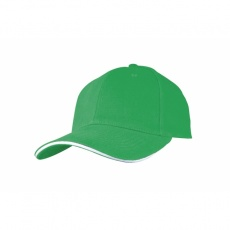 6-panel cap 'San Francisco'  color green