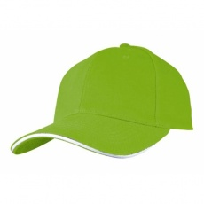 6-panel cap 'San Francisco'  color light green